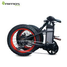 "Folding electric mountain bike / foldable pocket bicycle with 20"" fat tire for sale"