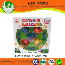 Funny frog catch ball game,desktop game,family game set