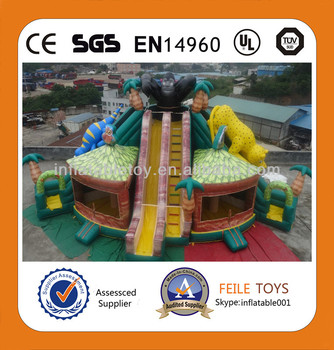 2014hot sale inflatable fun city/inflatable playground for kids/inflatable game