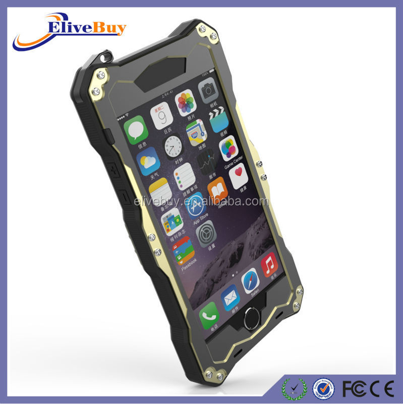 Cell Phone Aluminium Case For Iphone 6 - Buy Cell Phone Aluminum ...