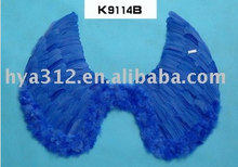 2014 Big Blue Feather Wing