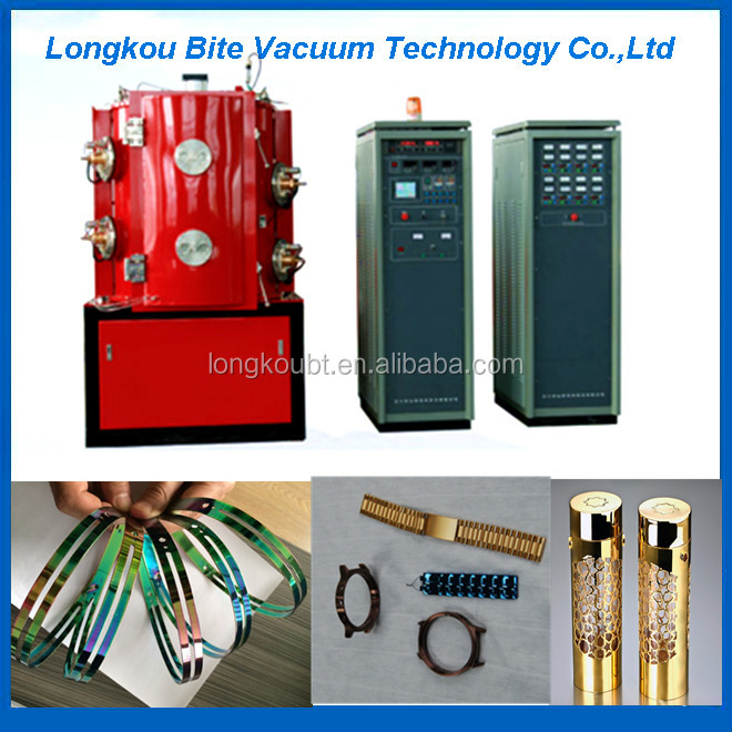 pvd titanium plasma color coating machine for barber scissors