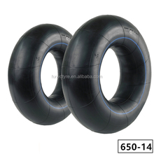 650-14 650R14 6.50-14 6.50R14 6.50.14 butyl inner tube with TR13 TR15 for PCR passanger car BIAS or Radial tyre