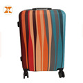 Irregular Stripe Pattern ABS PC Luggage Bagscases Luggage Case