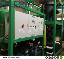 Large sized 50 Tons tube ice machine for edible ice factory
