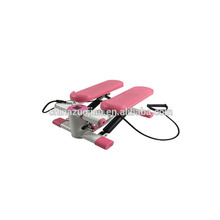 Mini Indoor Hydraulic Stepper with resistance bands