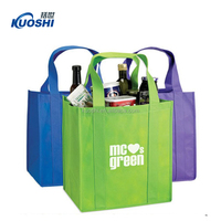 Non woven bags for wine with diciders