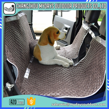 OEM and ODM wholesale comfortable non-slip leather dog car seat cover