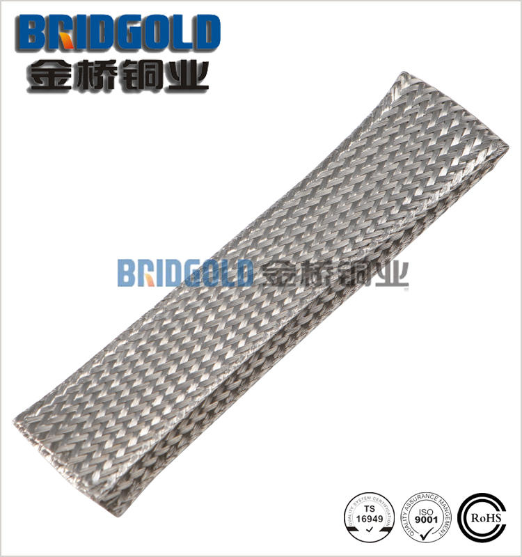 30awg flexible flat braided ground strap for car led headlight
