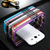 Metal bumper case for samsung galaxy s3 i9300, for samsung galaxy s3 cases,fashion bumper case for galaxy s3 i9300