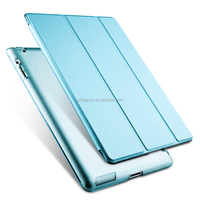 New coming 10 colors available ultra thin Leather Flip cover for ipad Air 1/2 1 2 tablet case