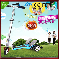 Twin Snow Dual Pedal rockboard scooter for kids
