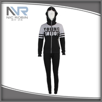NR16-W012 High Quality Sportswear Manufacturer Different Kinds Of Sports Wear Sports Suit Hoodie Sweatshirt For Women