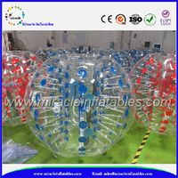 Clear kids inflatable bump balls soccer,soccer zorb ball BB-M7098