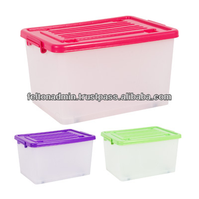 Plastic Transparent Storage Box