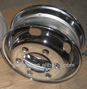 steel chrome bus wheel