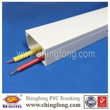 Self adhesive wire duct raceway