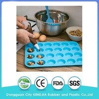 12 & 24 Mini Cup Sizes Muffin & Colorful Cupcake Baking Pan Set Silicone Bakeware and silicone muffin pan