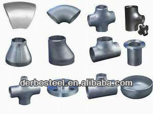 large diameter hot galvanized steel pipe fittings