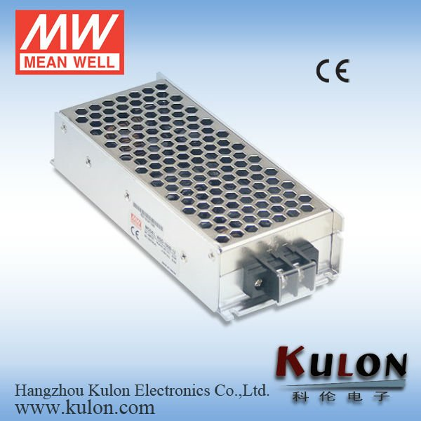 MEANWELL 100W 24V DC/DC single output enclosed type railway converter Switching Power supply CE/110v to 5v dc converter