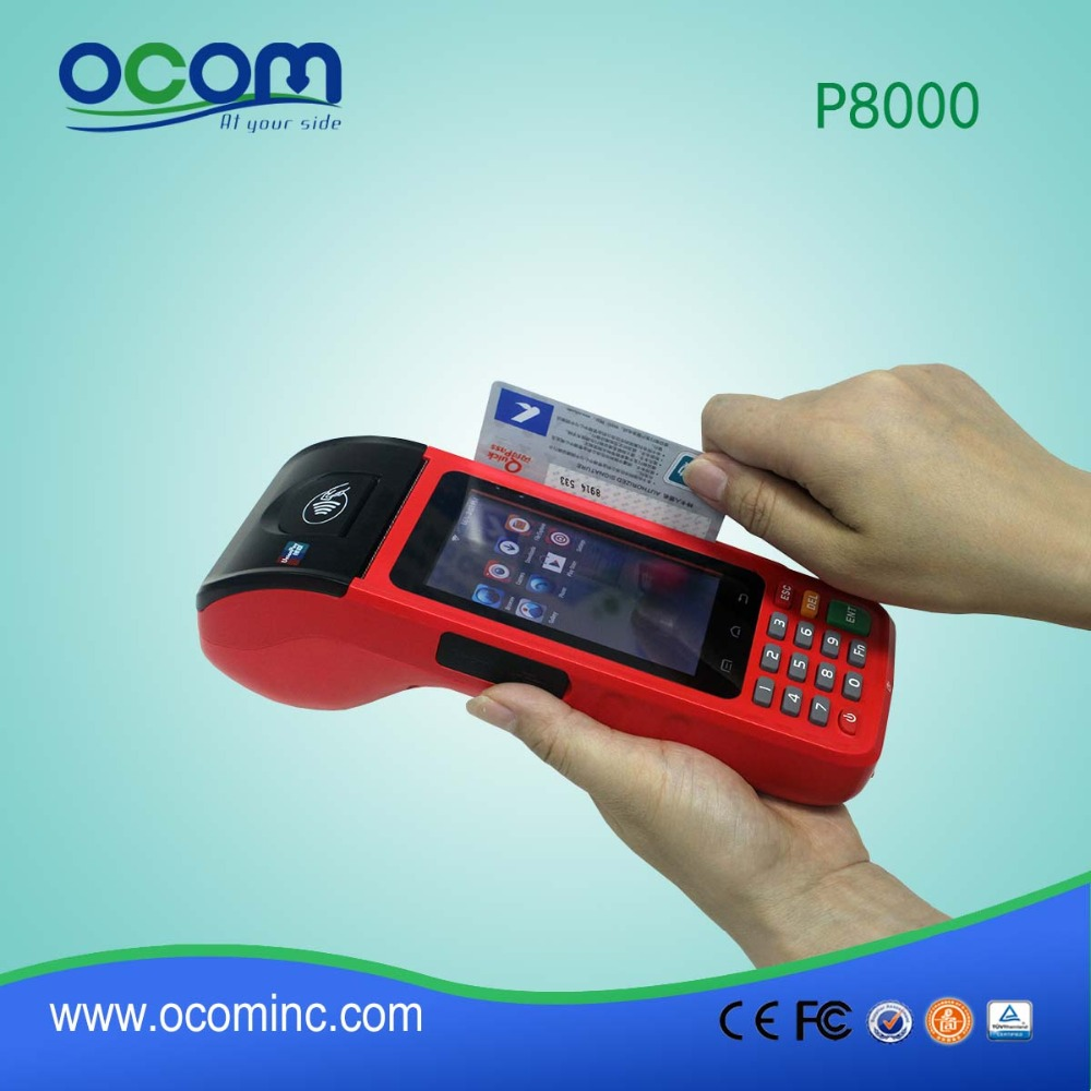 P8000: low price smart wireless pos terminal for lottery