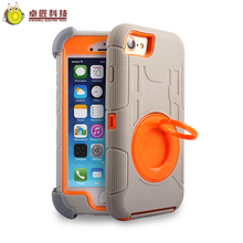 Universal pc silicone army phone case 3 in 1 for iphone 7 and 6 6 s plus armored cover case plastic