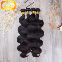 Alibaba express new hight quality products cheap body wave virgin wholesale Brazilian hair extension hair attachment for braids