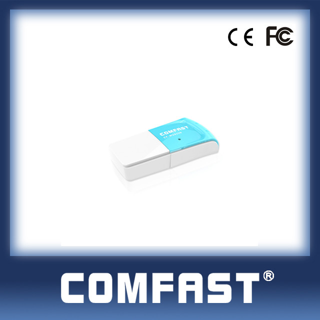 802.11g Alfa Hot Selling WLAN USB Network Card for Laptop Realtek 8192 COMFAST CF-WU825N
