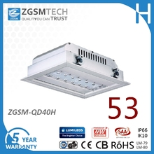Hot selling 40W-160W recessed led canopy light with CE, RoHS