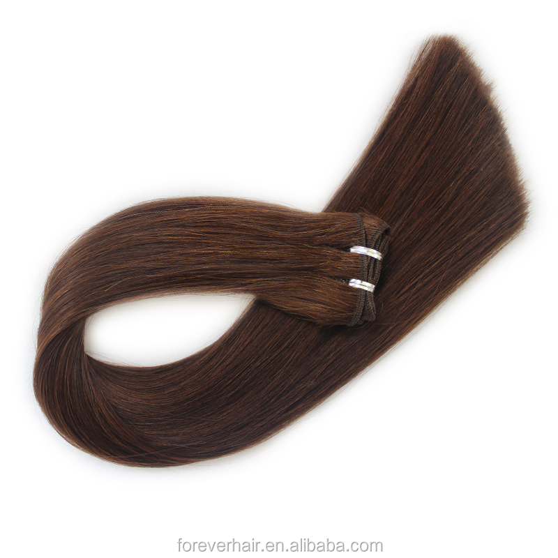 Best selling Double Drawn 8A full cuticle 100 human remy 12 14 16 18 virgin indian hair