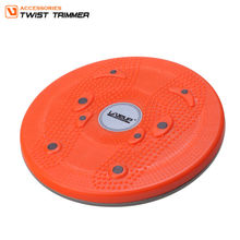 fitness waist twisting disc trimmer / waist twisting disc exercise/ magnetic figure twister