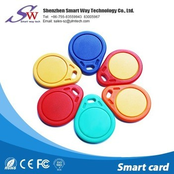 wholesale waterproof contactless T5577 rfid key fob