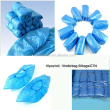 Medical Materials&Accessories Properties and Dressings and Care For Materials Type Disposable PE or CPE plastic boot shoe cover