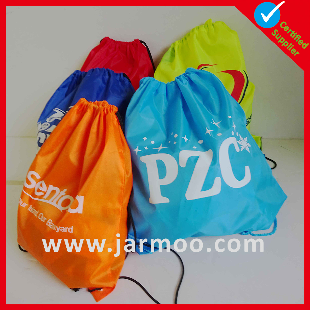 top quality nylon personalized washable fabric bags