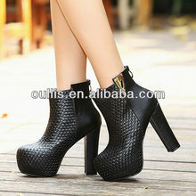 2016 fashion porcelain reasonable price high-heeled shoes PQ2595