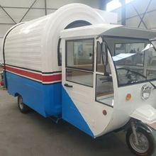 caravan trailer fast mall street mobile food kiosk trailer van