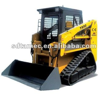 crawler skid steer loder TS50 track skid loader,china bobcat,engine power 50hp,loading capacity 700kg