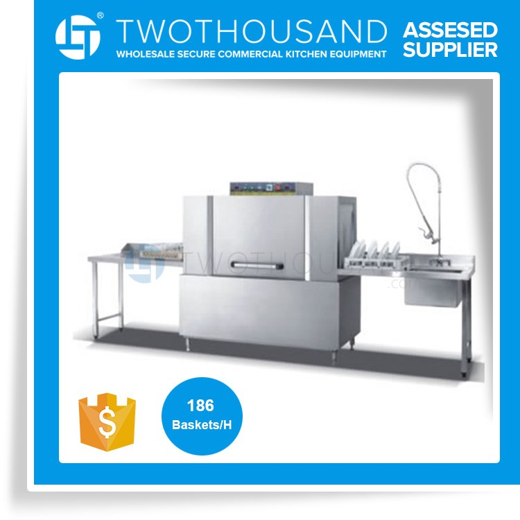 Heavy Duty Dish Hotel and Restaurant Dish Washing Machine TT-K135 From Twothousand Machinery