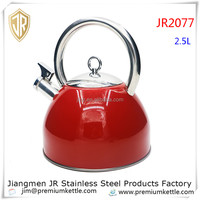 High quality home appliances / stainless steel whistling kettle / cordless kettle