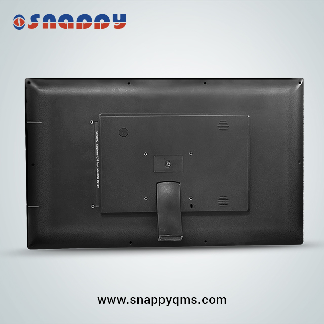 21.5inch Multi-Language Support Queue Management LCD Counter Display for queuing system