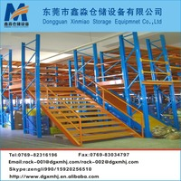 Warehouse Multi-level Mezzanine Rack Attic Floor for Space Saving