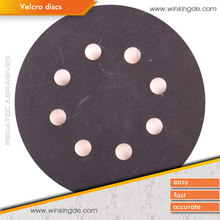 PEGATEC long-life polishing silicon carbide sand paper coated abrasive sand vercro disc
