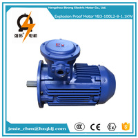 3 phase 1.5hp 8 pole explosion proof 380 volt electric ac industrial motor