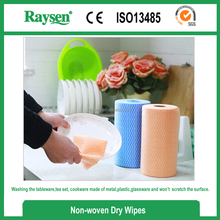 25PKDisposable nonwoven dishcloth/household nonwoven wipes/kitchen Spunlace wiping cloth