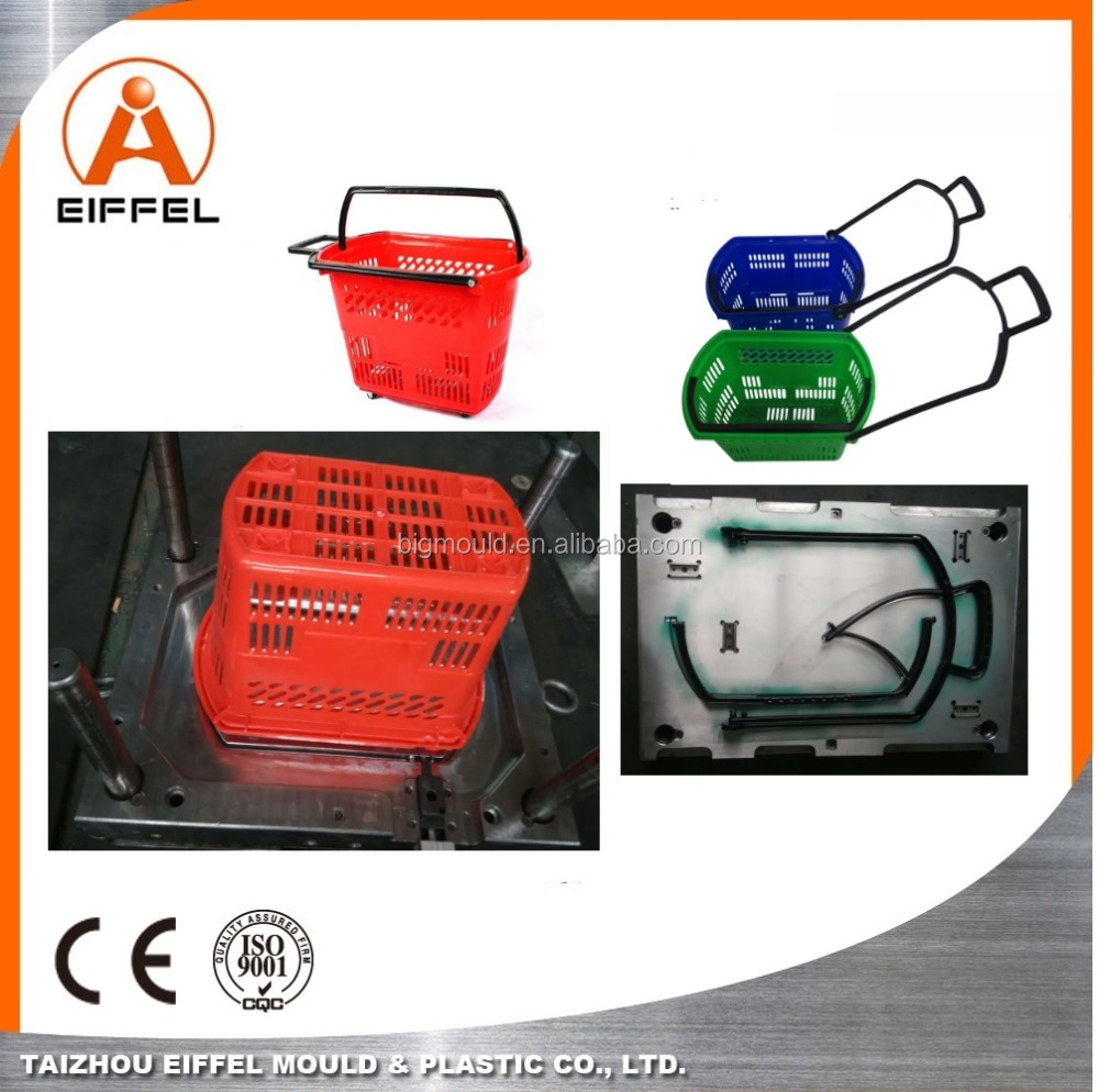 China Manufacturing Mold For Household Shopping Crate Mould