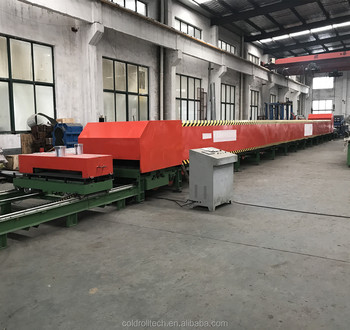 Economic Type Continuous Rubber Belt Type PU Sandwich Panel Production Line For Roof And Wall