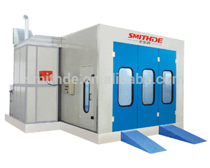 2018 China manufacture water curtain spray paint booth S-68 with CE approved