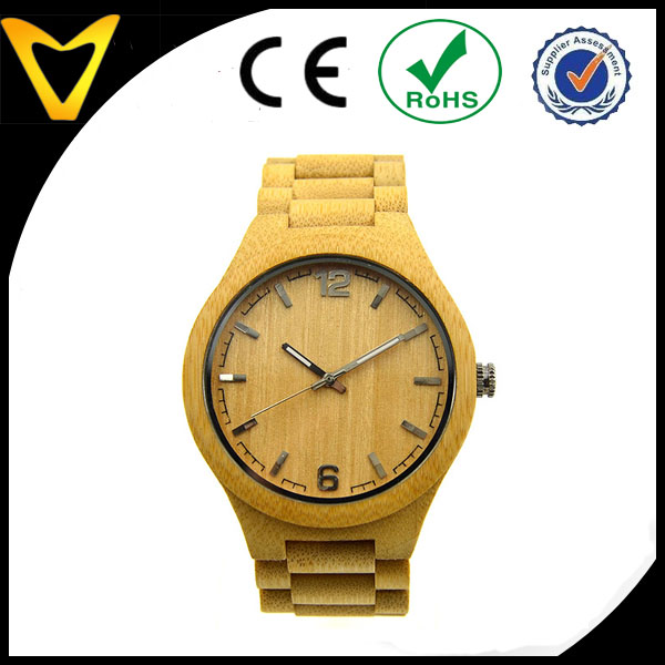 Chinese Vlink Jewelry Manufacture Direct Bamboo Watches For Men and Women