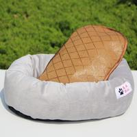 Dog Bed House Cushion Pet Mat Kennel Puppy Nest Soft Washable Cozy Warm Blanket