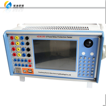 Six Phase Secondary Current Injection Universal Protection Relay Test